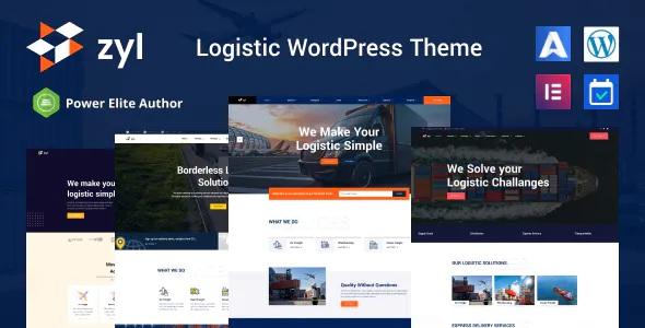 Best Transportation Logistics WordPress Theme
