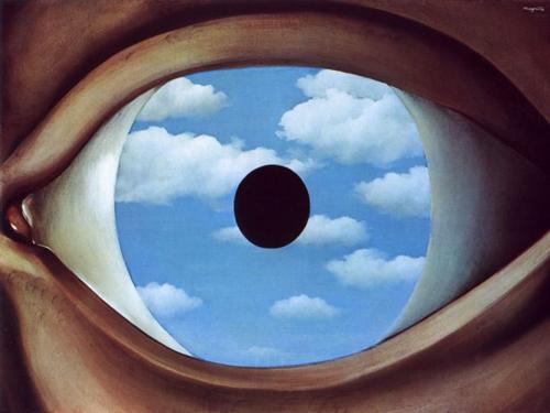 Filosofia per la vita - René Magritte, Il falso specchio