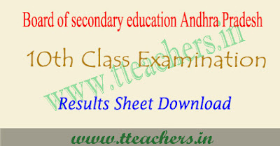 Eenadu AP 10th results 2017, sakshi ap ssc result download.com manabadi