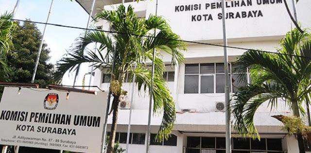 KPU Surabaya Didesak Umumkan Nama Paslon Yang Positif Covid-19, Ini Alasannya