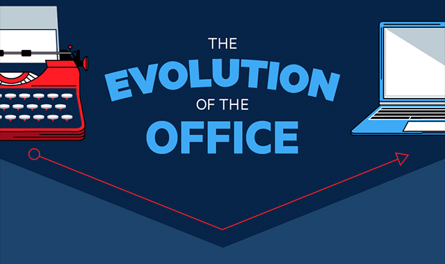 The evolution of the Office #infographic