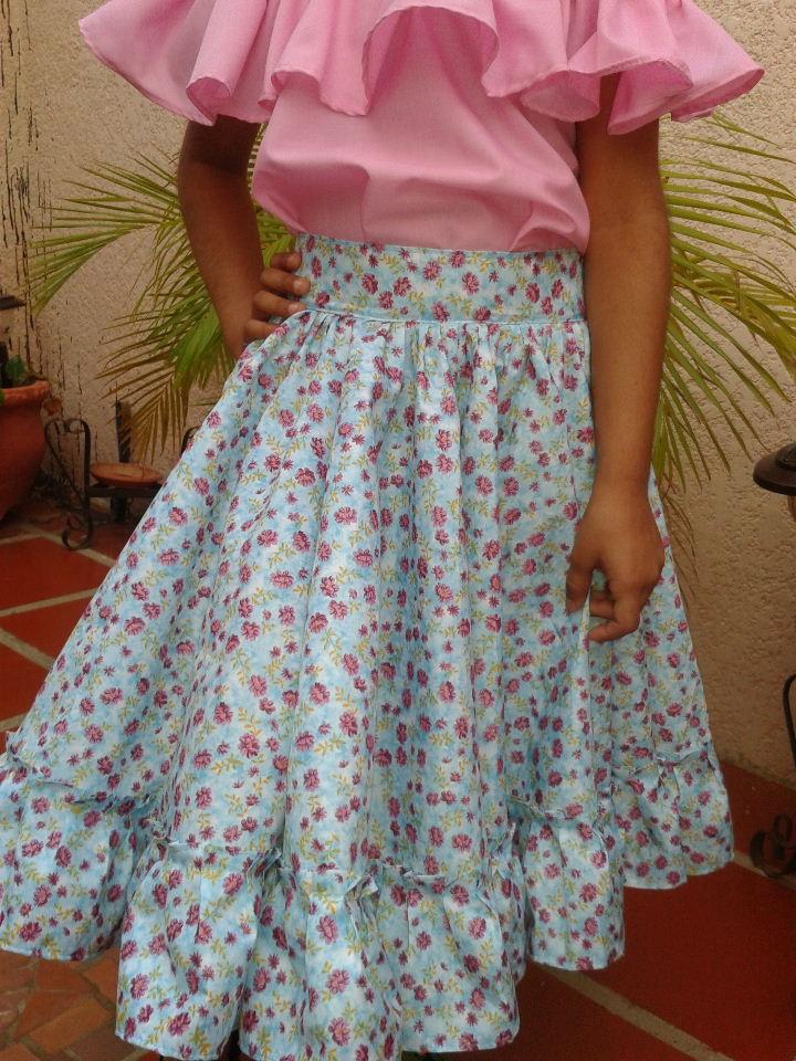 bf2d910ff Novedades Paola: Pasos para Confeccionar una Falda de Danza FolKlorica