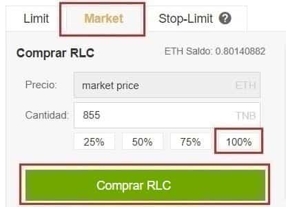 Comprar iExec RLC Tutorial Castellano con Euros y Dolares