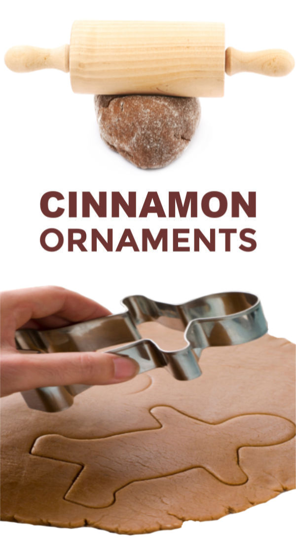 No cook cinnamon ornaments made using just 3 ingredients! This recipe is so easy & makes my entire home smell just like Christmas!#cinnamonornamentrecipe #cinnamonornamentseasy #cinnamonornamentsnobake #ornaments #ornamentsdiychristmas #ornamentscrafts #ornamentclayrecipe #nocookcinnamonornaments #cinnamonsaltdough #christmascraftsforkids #growingajeweledrose #activitiesforkids