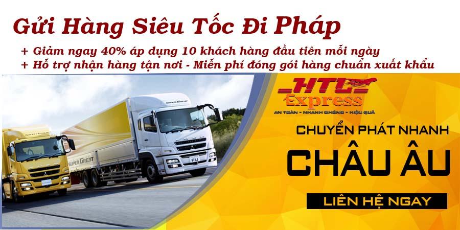gửi hàng siêu tốc từ Việt Nam đi Pháp