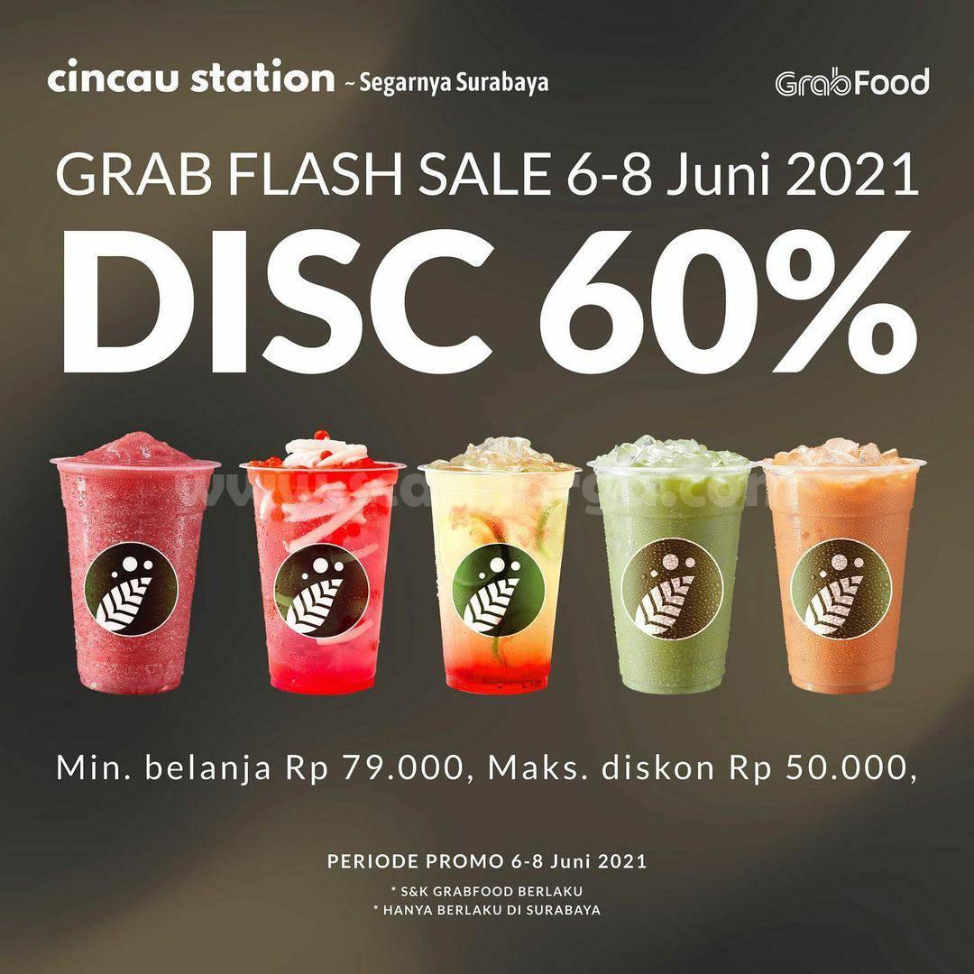 Promo Cincau Station Grabfood Terbaru Hari Ini