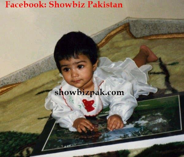 Pakistani Posts: Pakistani Celebrities Childhood Pics