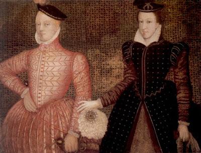 H Μαρία Στιούαρτ με τον 2ο σύζυγο της, λόρδο Ντάρνλεϊ