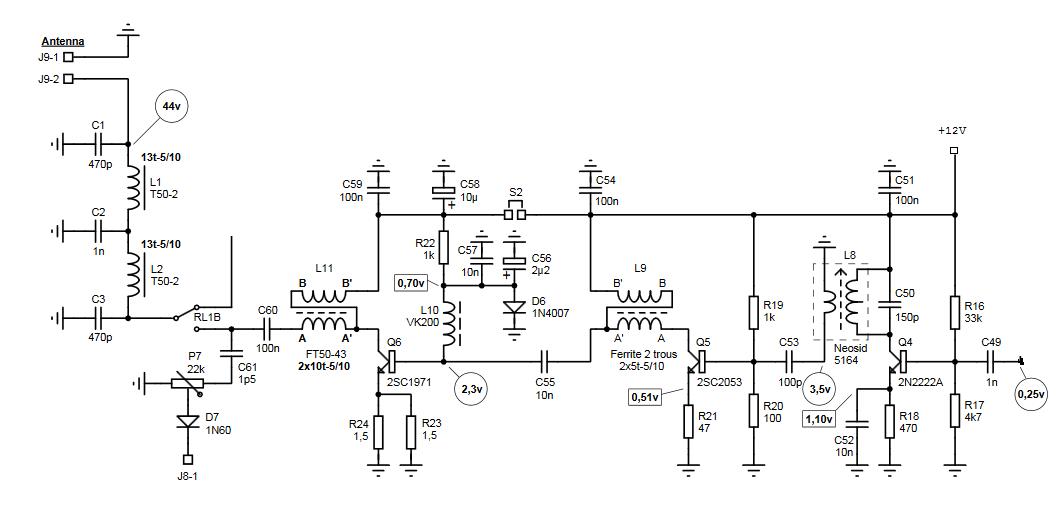 Simple Qrp Transceiver Circuit Diagrams 2019