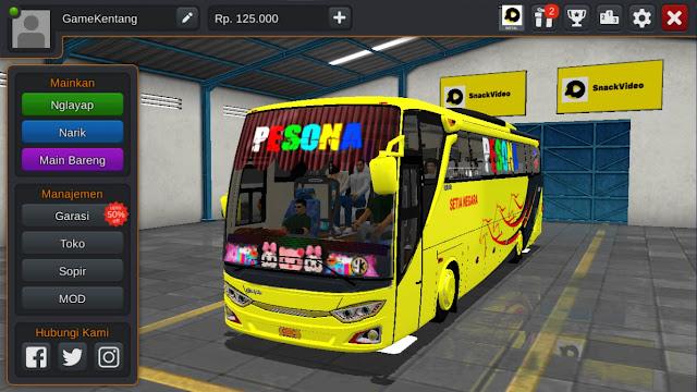 Cara Pasang Livery BUSSID (Bus Simulator Indonesia)