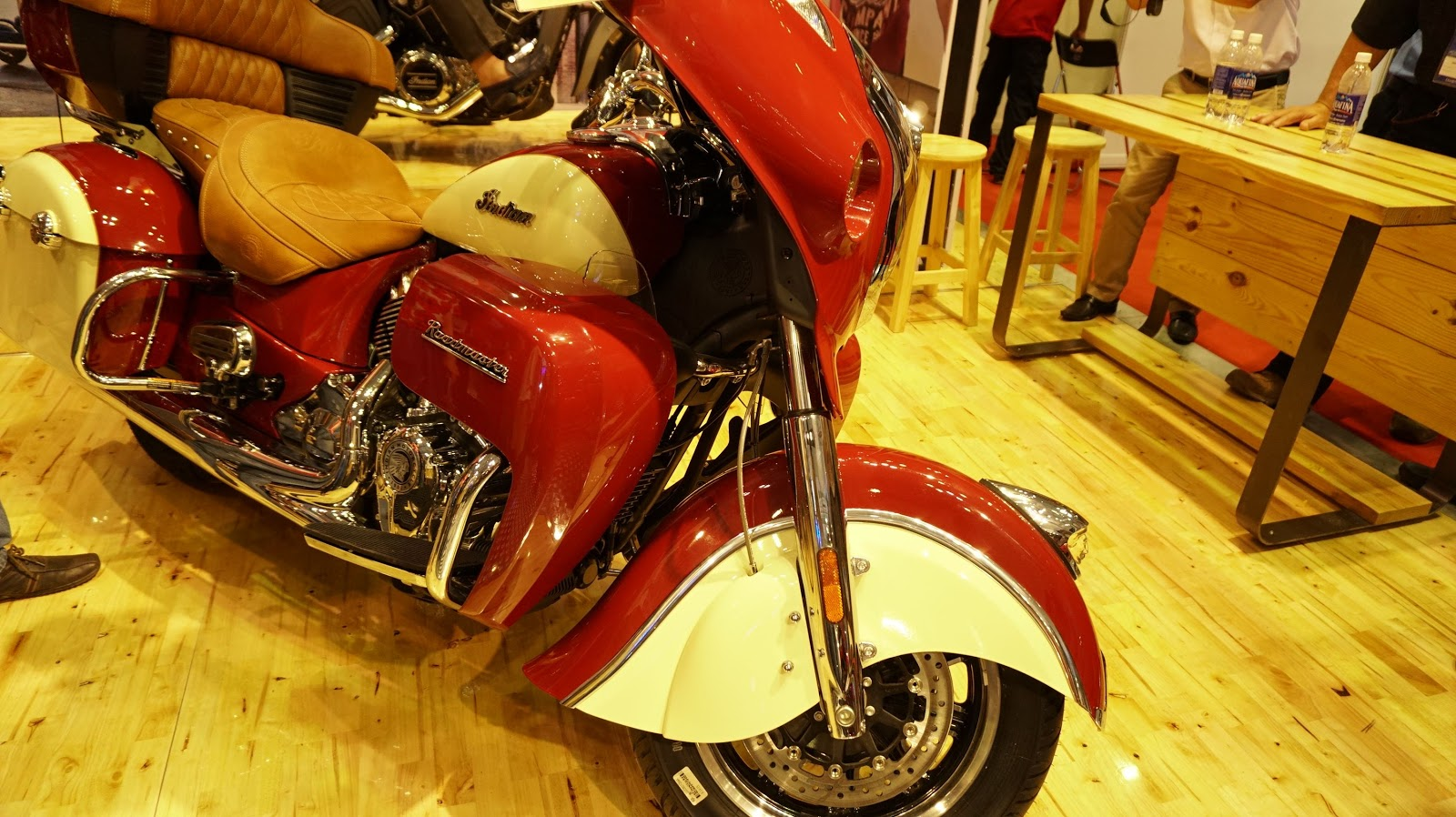 Indian Roadmaster chính là chiếc mô tô sang nhất Vietnam Motorcycle Show lần này