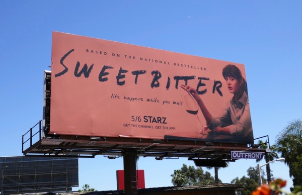 Sweetbitter series premiere billboard