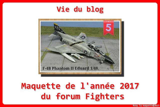 Vie du blog, concours de la maquette de l'année 2017 du forum Fighters.