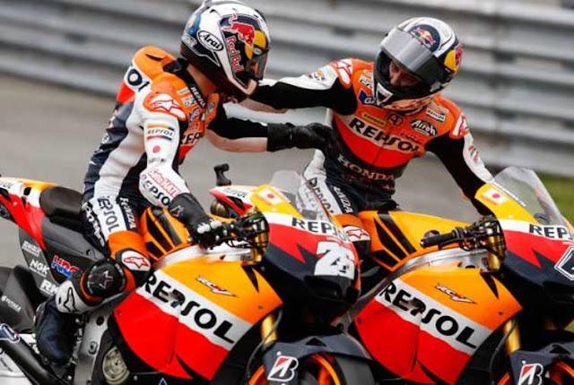 Pebalap Honda Rajai, MotoGP Aragon 2017