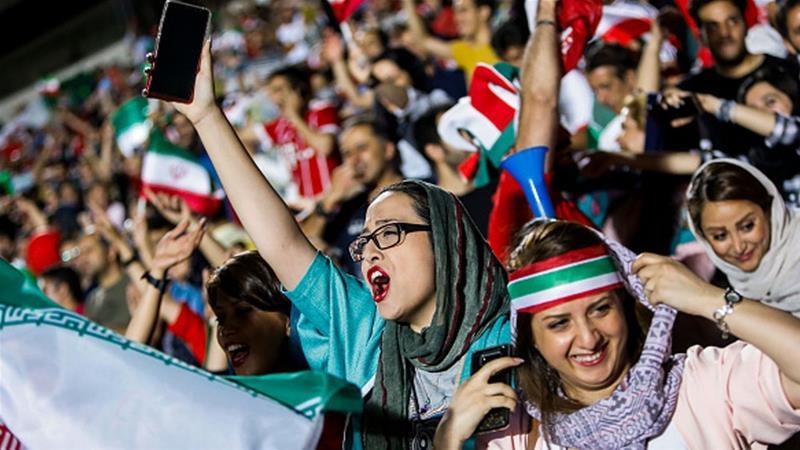 FIFA boss Infantino calls on Iran to lift stadium ban on women
