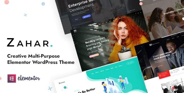 Best Creative Multipurpose Elementor WordPress Theme