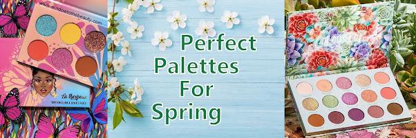 spring eyeshadow palettes 2021