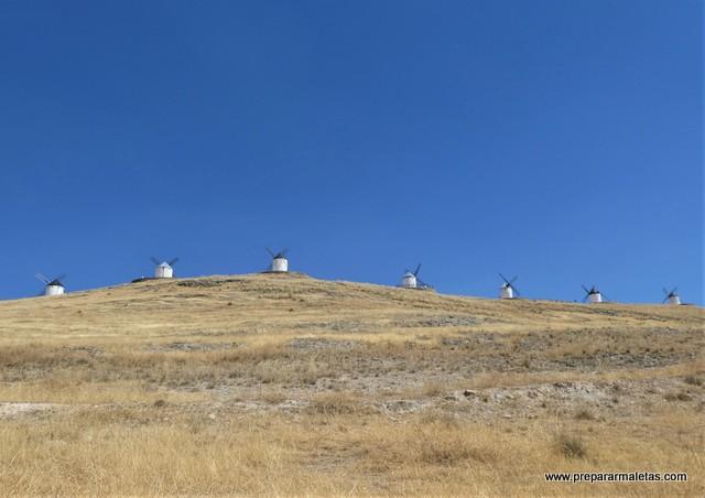 visitar molinos de viento en Toledo