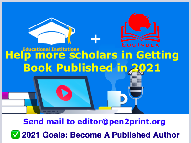 2021 Goals: Become A Published Author