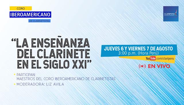 La enseñanza del clarinete en el siglo XXI. Latinoamérica educación CLARIPERU