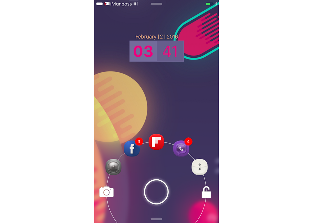 JellyLock Unified brings Android Jelly Bean styled Lock screen to your iOS devices