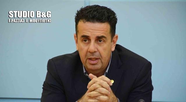 Ο Δήμαρχος Ναυπλιέων Δημήτρης Κωστούρος για το 5ο Δημοτικό Σχολείο
