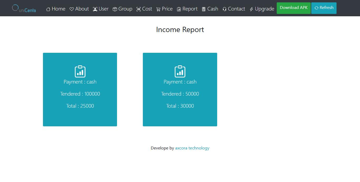 unicenta online pos web app free download source code