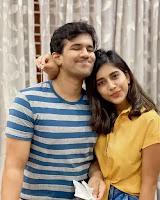 nabha natesh with his brother nahush chakravarthi