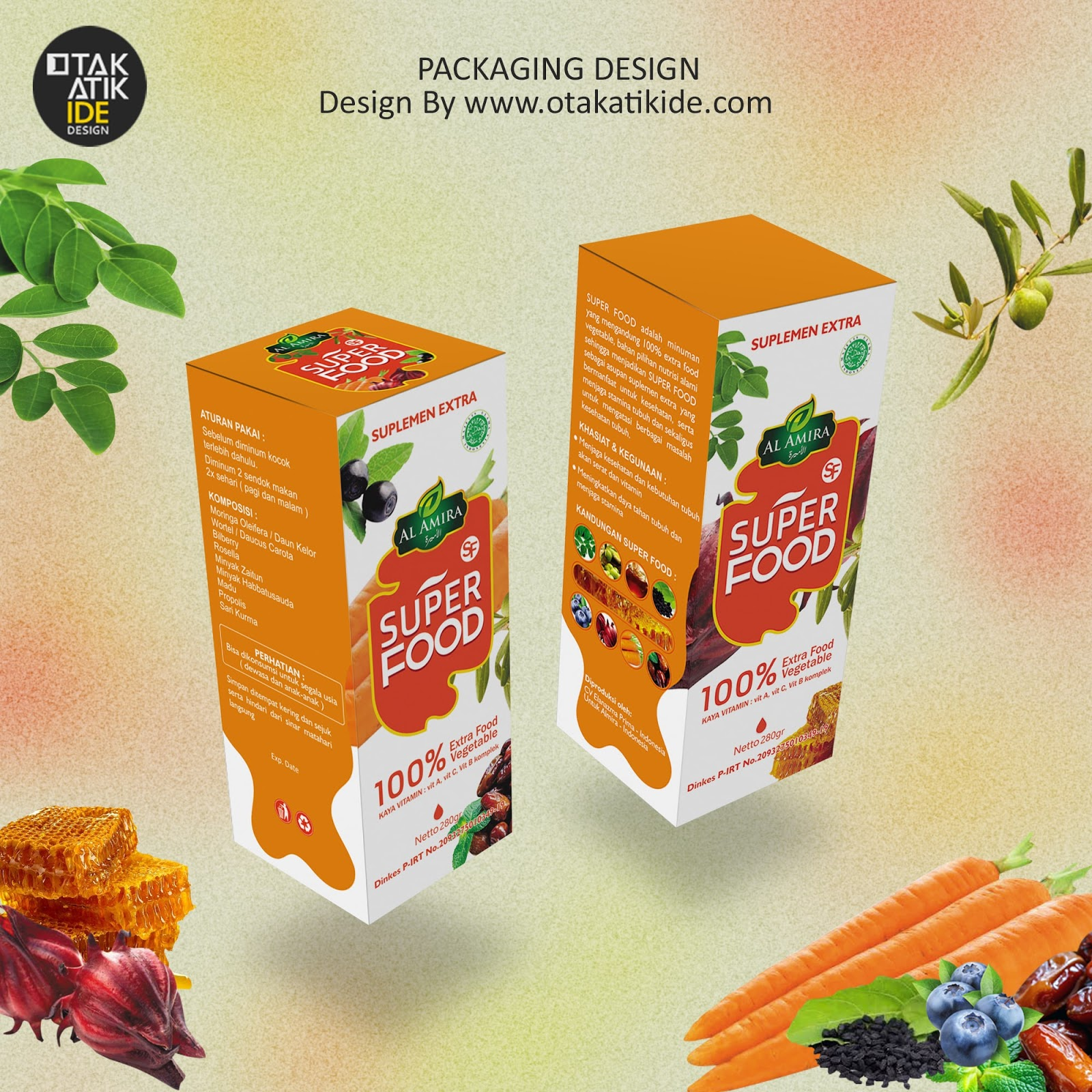 Solusi Jasa Desain Packaging Minuman Kesehatanjasa Desain