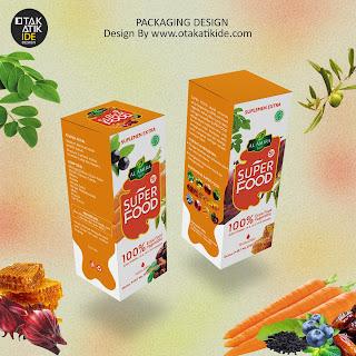 Solusi jasa desain packaging minuman kesehatan