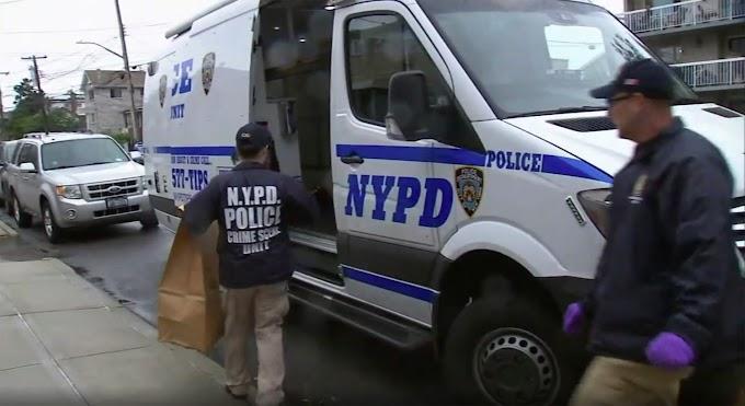 Hispano asesina ex esposa a machetazos en avenida de El Bronx después de atropellarla con  su carro