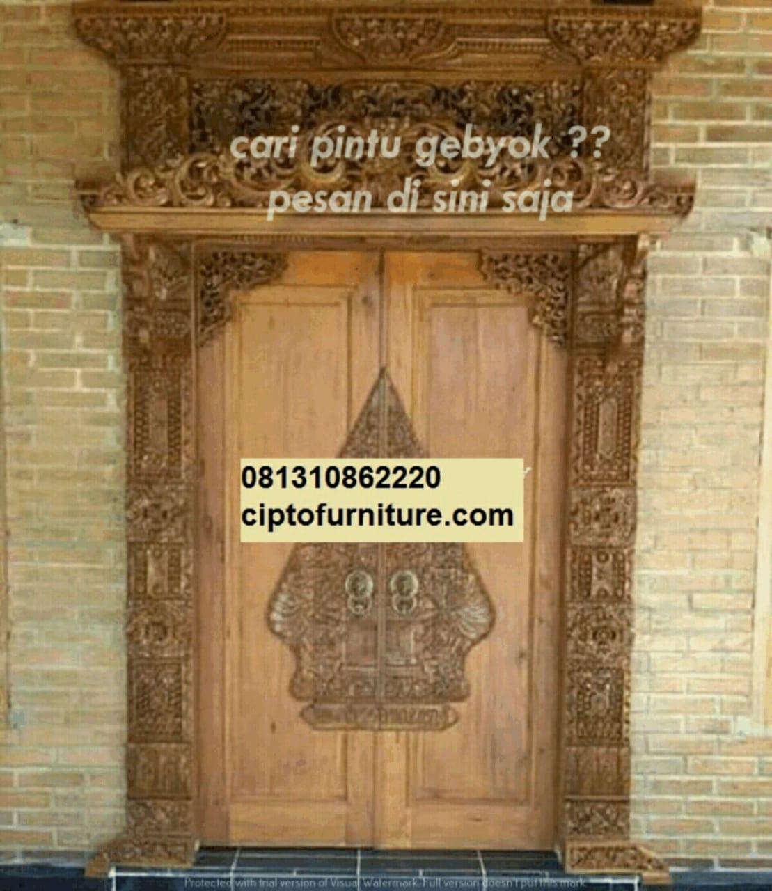 Inspirasi Model Pintu Ukiran Bali Harga Pintu Gebyok Murah