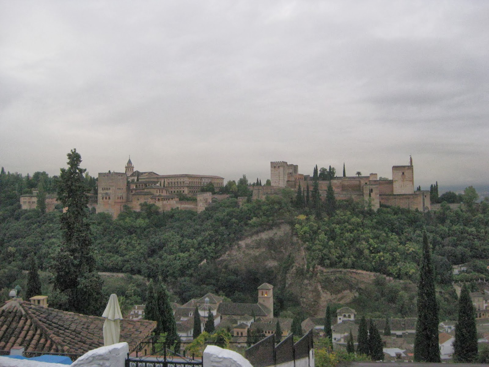 Granada - You get the best views of The Alhambra from Mirador de San Nicolas