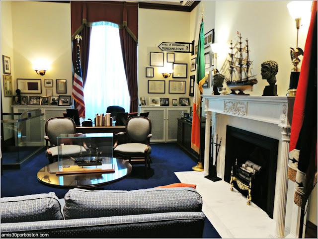 Réplica de la Oficina en el Senado de Edward M. Kennedy
