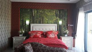 Gamabar Head Board Tempar Tidur Simpruf Garden Cikarang