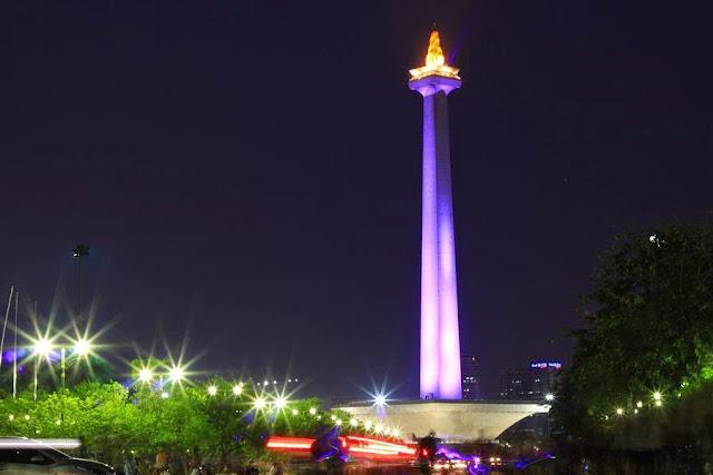 Wisata Murah Monumen Nasional (Tugu Monas) Jakarta