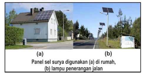 gambar panel surya