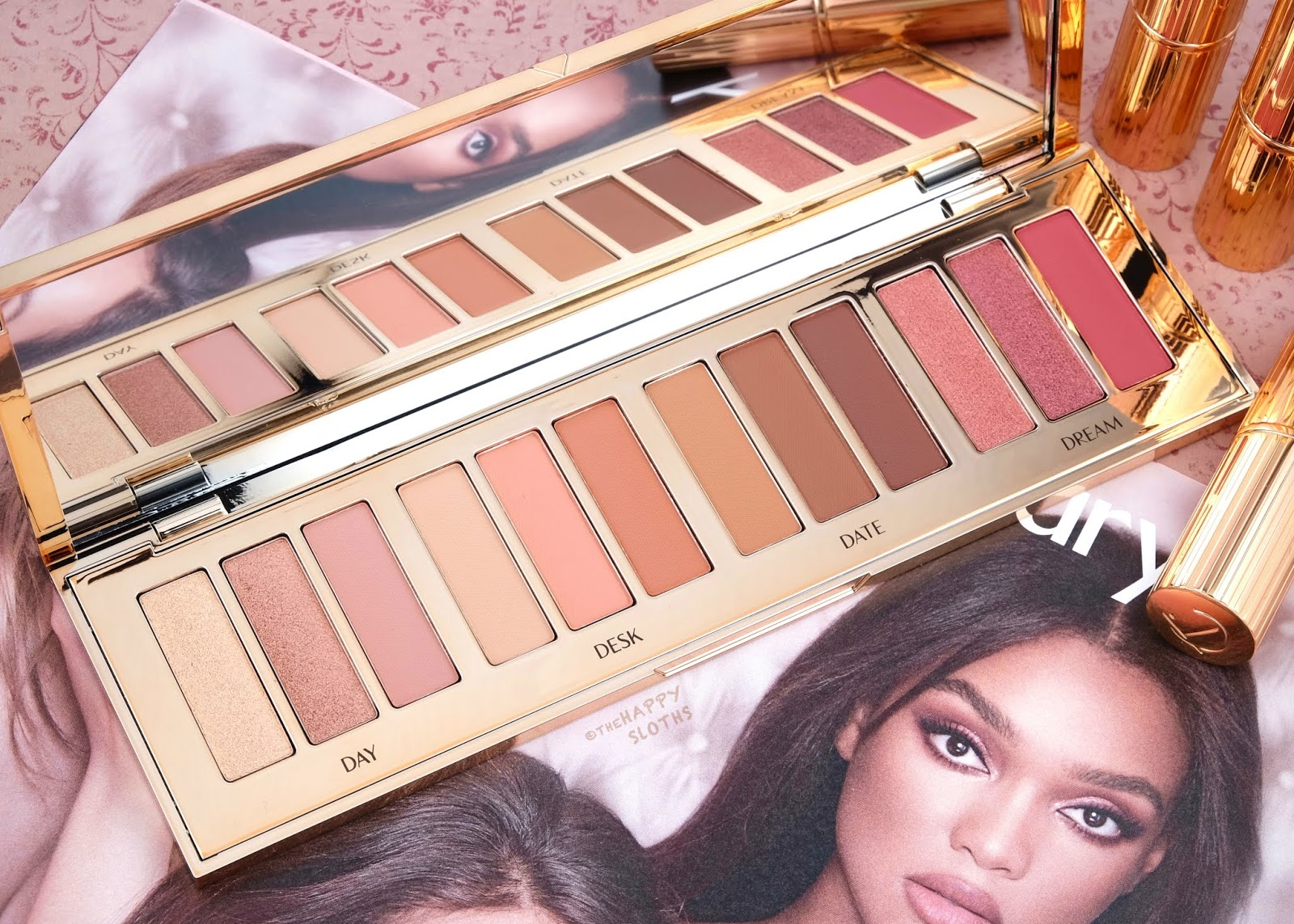 "Charlotte Tilbury | Instant Eye Palette in ""Pillow Talk"": Review and Swatches"