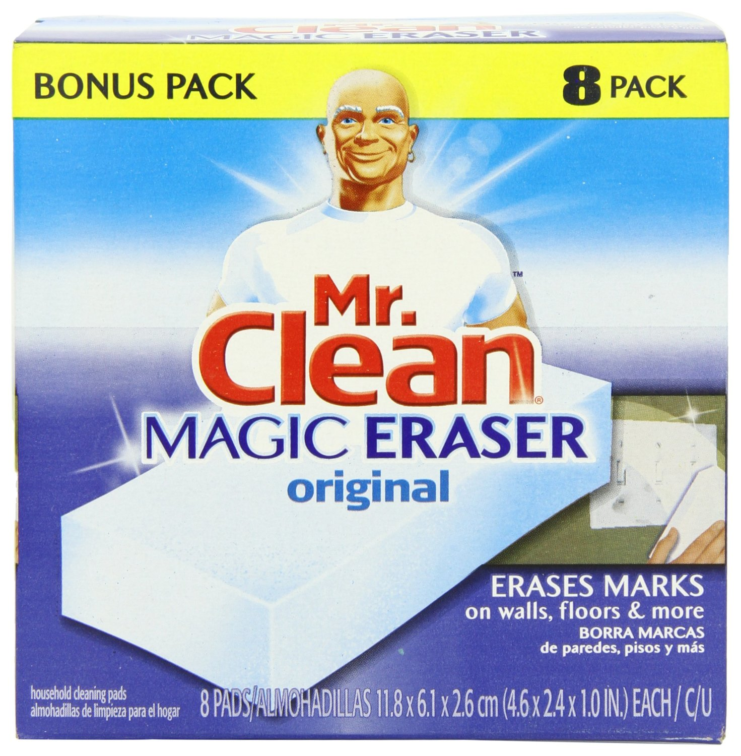 Has 8 Ct Mr Clean Magic Erasers For Just 5 65 A Box Right Now This Includes The Subscribe Save And 50 E Coupon That You Can Clip