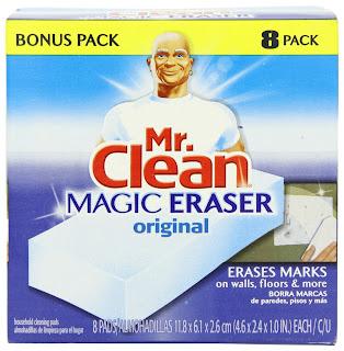 Mr Clean Magic Eraser Mechanism Damage Car Paint