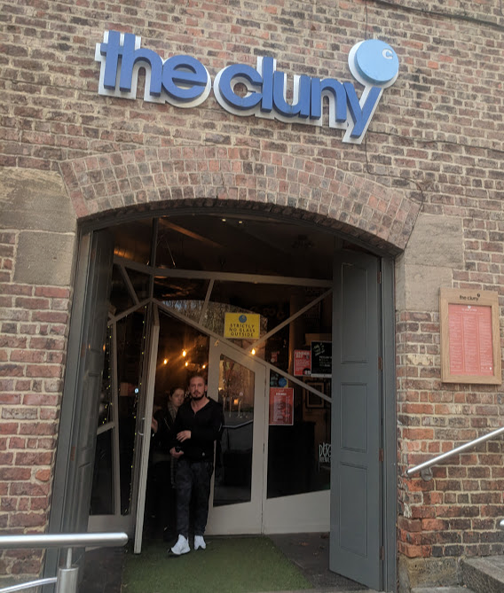 A Grown-Up Festive Weekend in Ouseburn - the cluny entrance