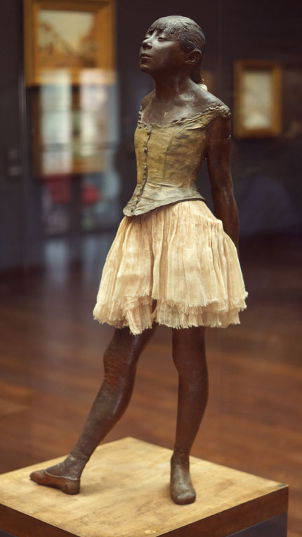 Edgar Degas Sculpture Petite Danseuse de 14 Ans
