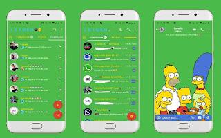 Simpsons Theme For YOWhatsApp & Fouad WhatsApp By Leidiane