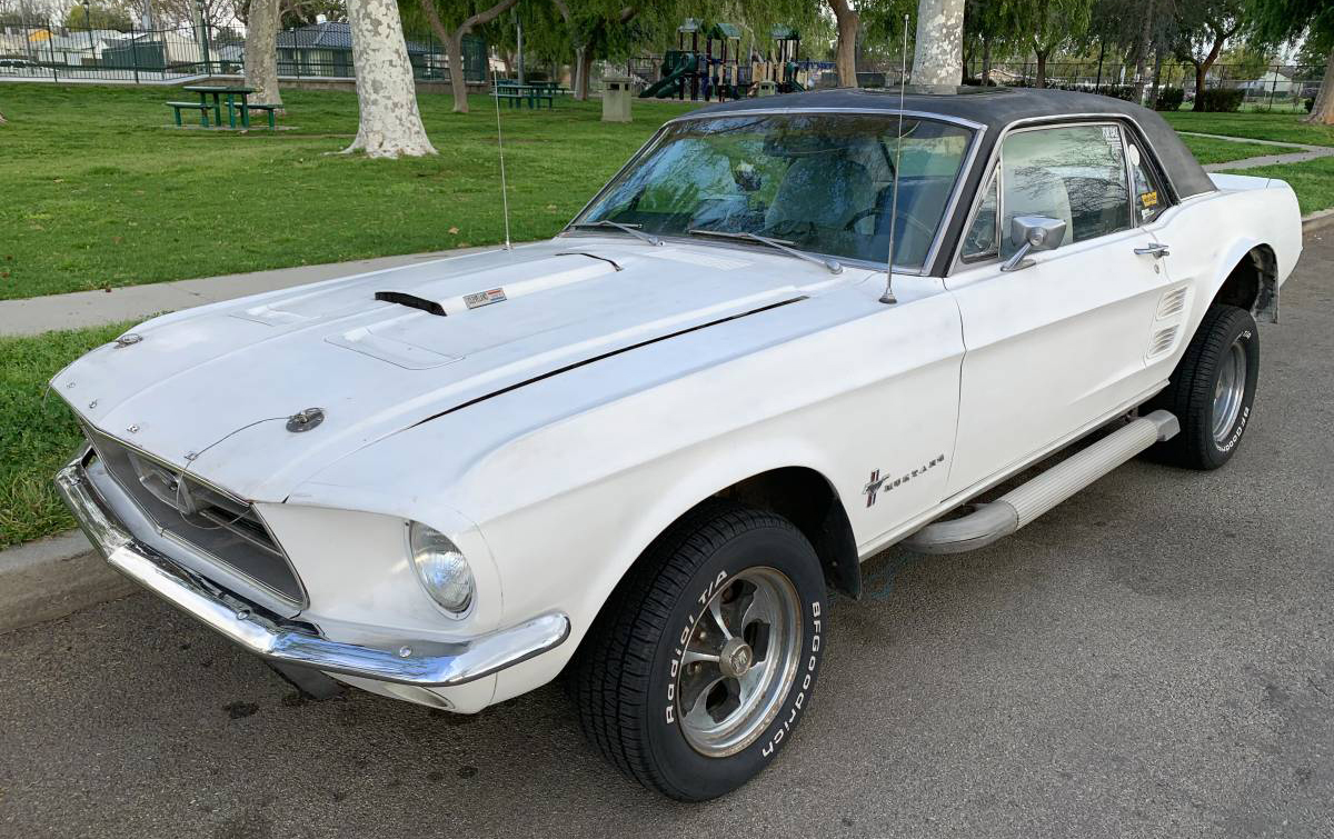 Just A Car Guy 1970s Time Capsule 67 Mustang Sports Sprint For Sale On Los Angeles Craigslist Thanks Ian