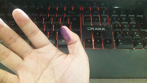 thumb-printing