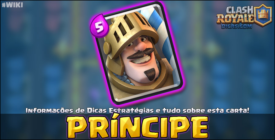 Carta do Príncipe em Clash Royale