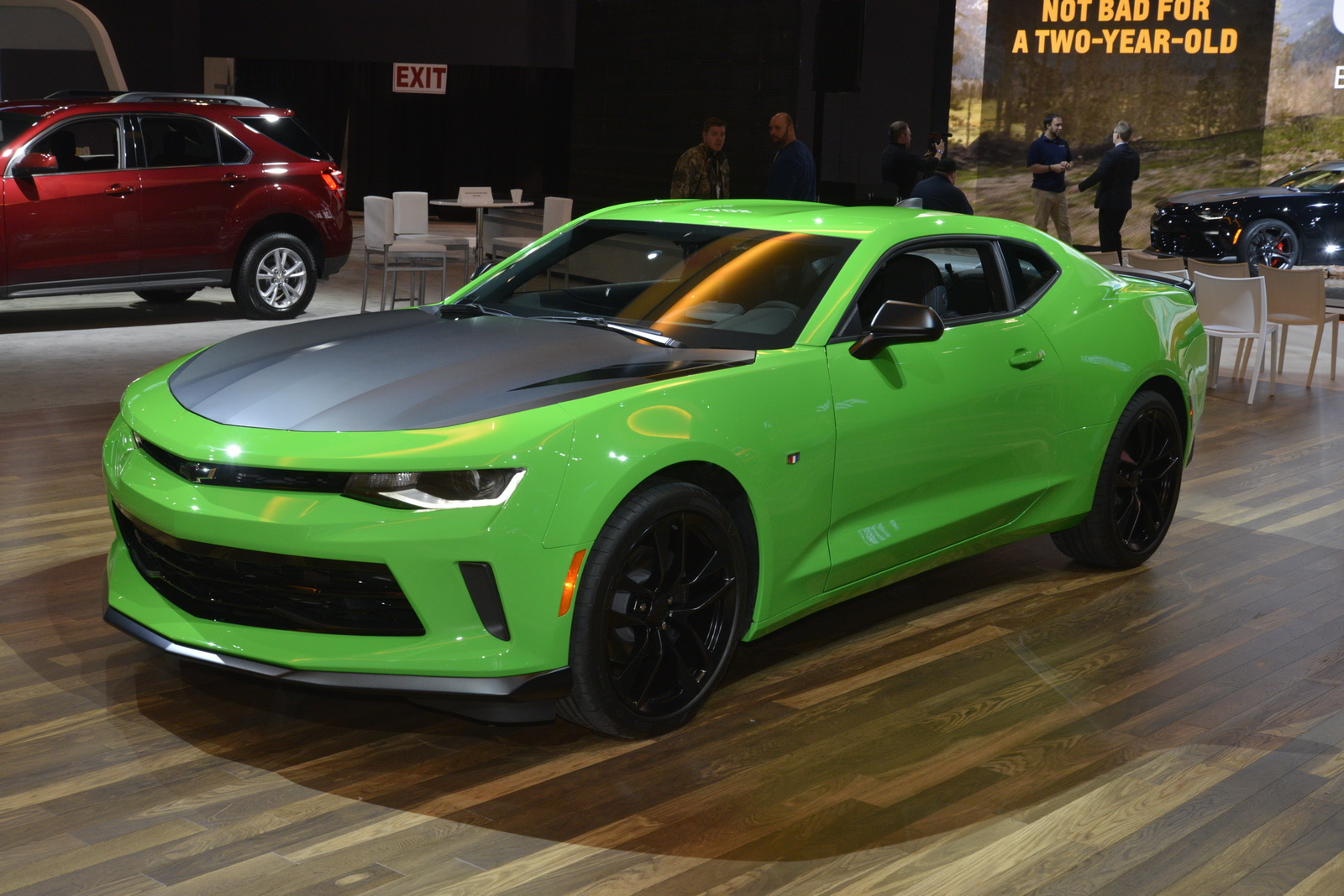 Chevrolet S Track Ready 2017 Camaro 1le Shows Up In