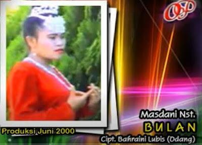 Lirik Lagu Tapsel Mandailing Masdani Nasution – Bulan