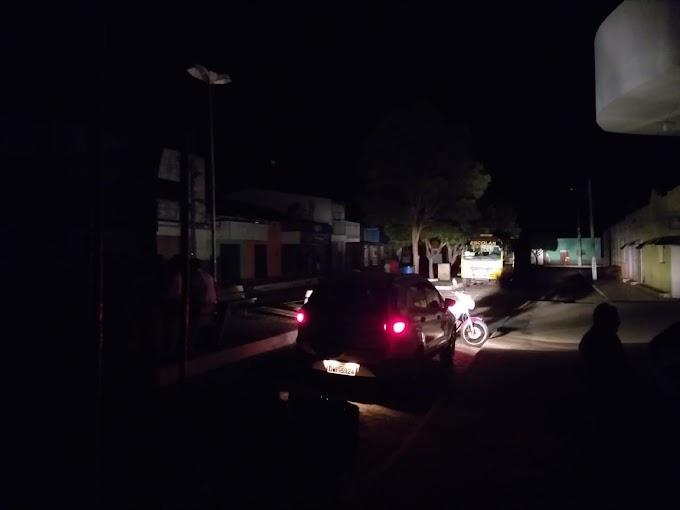 Tentativa de suicídio causa apagão na Região Potengi