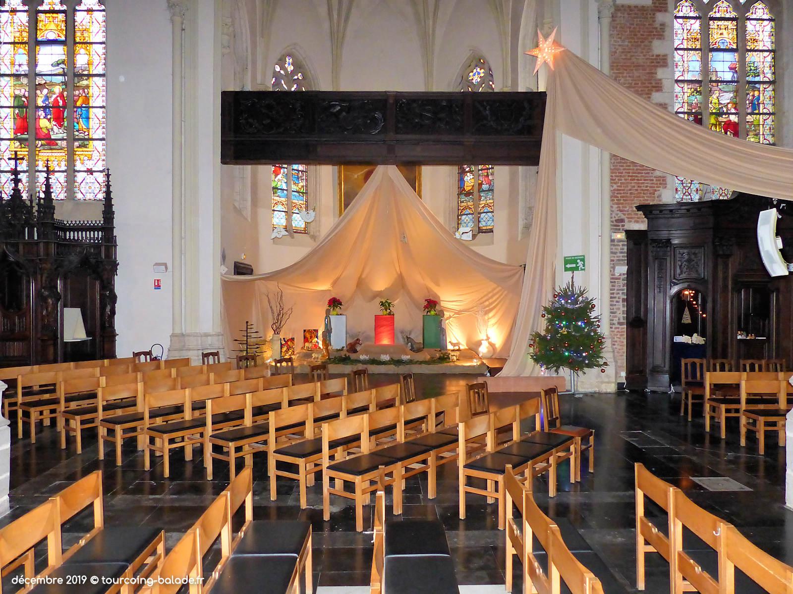 Crèche 2019, Tourcoing église Saint Christophe
